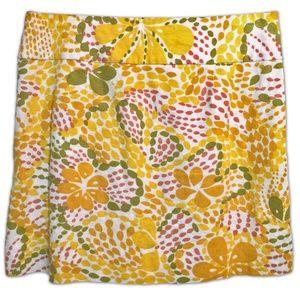 *LAST CHANCE!* J.CREW Fiji floral linen mini skirt